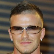 Cool David Beckham Haircut Skin Fade With Faux Hawk